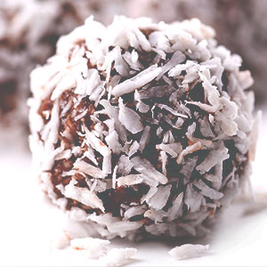 Chocolate Nut Ball Treats