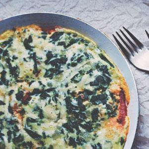 Feta and Vegetable Frittata