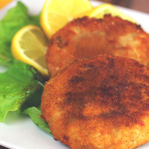 Salmon and Lemon Mini Fish Cakes