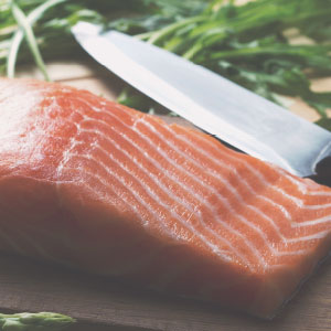 Salmon Wasabi Burgers